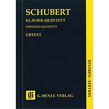 G. Henle Verlag Quintet A Major Op. Posth. 114 D 667 The Trout Henle Study Scores Series Softcover by Franz Schubert
