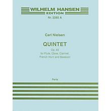 Wilhelm Hansen Quintet Op. 43 (Parts) Music Sales America Series Composed by Carl Nielsen