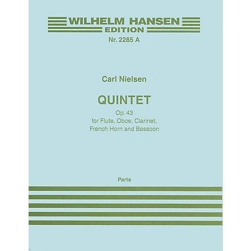Wilhelm Hansen Quintet Op. 43 (Parts) Music Sales America Series Composed by Carl Nielsen-thumbnail
