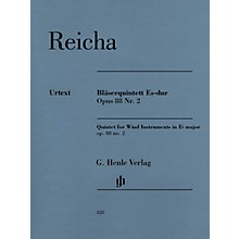 G. Henle Verlag Quintet for Wind Instruments in E-flat Major Op. 88 No. 2 Henle Music Softcover by Reicha Edited by Wiese