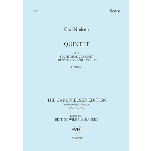 Wilhelm Hansen Quintet for Wind Op. 43 Music Sales America Series by Carl Nielsen-thumbnail