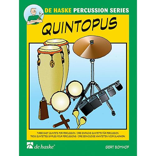 De Haske Music Quintopus 3 Easy Quintets For Percussion Concert Band-thumbnail
