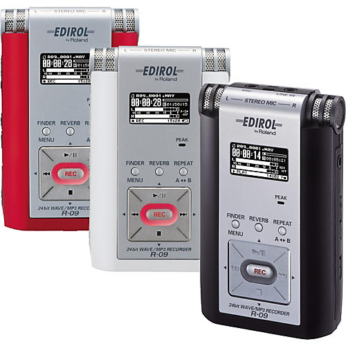 Edirol R-09 24-Bit Wave/MP3 Recorder