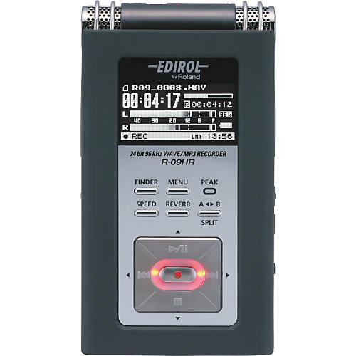 Edirol R-09HR 24-bit/96KHz WAV/MP3 Recorder-thumbnail
