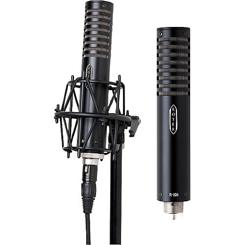 Royer R-101 Ribbon Mic Matched Pair Black