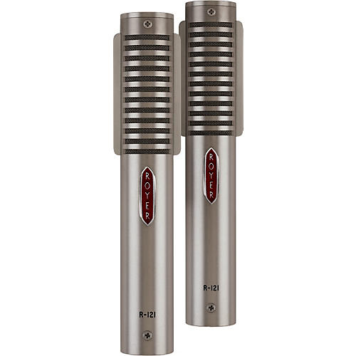 Royer R-121 LIVE Matched Ribbon Microphone Pair-thumbnail