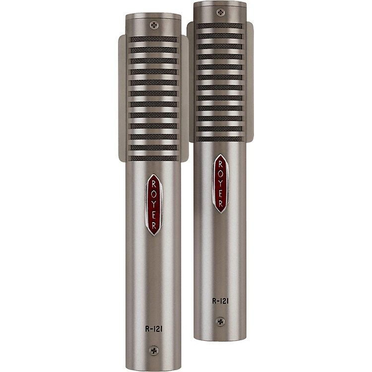 Royer R-121 LIVE Matched Ribbon Microphone Pair