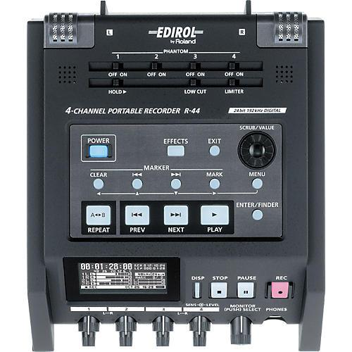 Edirol R-44 4-Channel Solid State Field Recorder