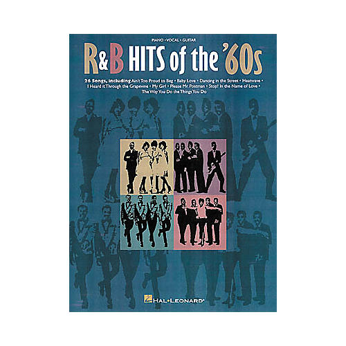 Hal Leonard R and B Hits Of The '60s Piano/Vocal/Guitar Songbook