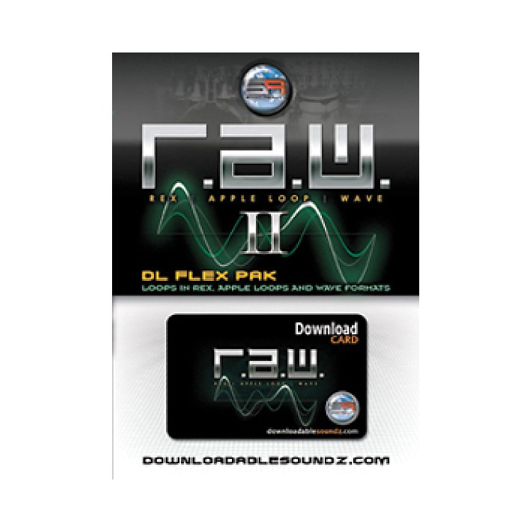 Sonic RealityR.A.W. 2 DL Flex Pak with Download Card
