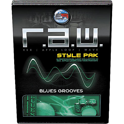 Sonic Reality R.A.W. Style Pack - Blues Grooves Loops Collection Software