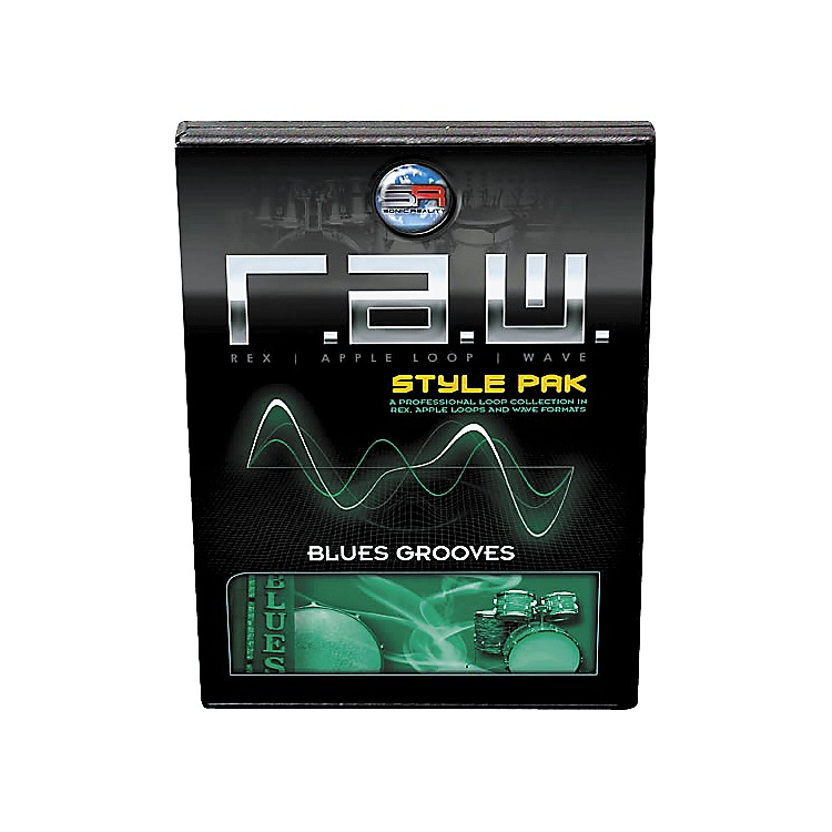 Sonic RealityR.A.W. Style Pack - Blues Grooves Loops Collection Software