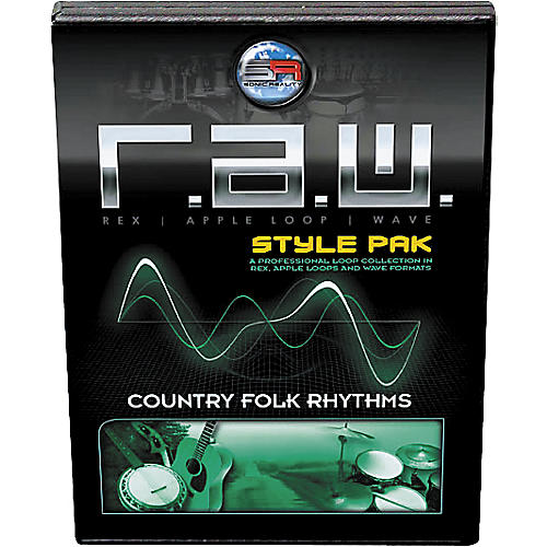 Sonic Reality R.A.W. Style Pack - Country Folk Rhythms Loops Collection Software