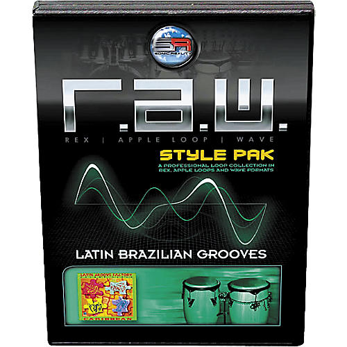 Sonic Reality R.A.W. Style Pack - Latin: Brazilian Grooves Loops Collection Software