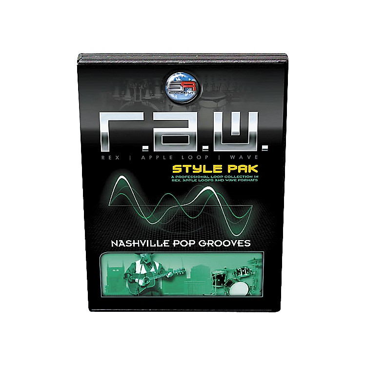 Sonic Reality R.A.W. Style Pack - Nashville Pop Grooves Loops Collection Software