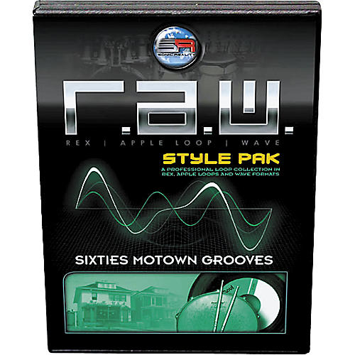 Sonic Reality R.A.W. Style Pack - Sixties Motown Grooves Loops Collection Software