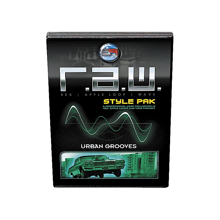 Sonic Reality R.A.W. Style Pack - Urban Grooves Loops Collection Software