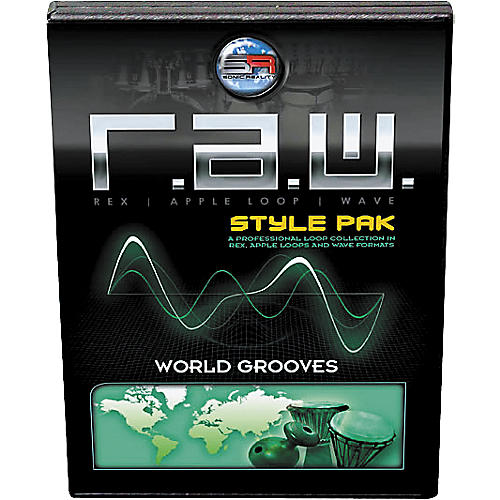 Sonic Reality R.A.W. Style Pack - World Grooves Loops Collection-thumbnail
