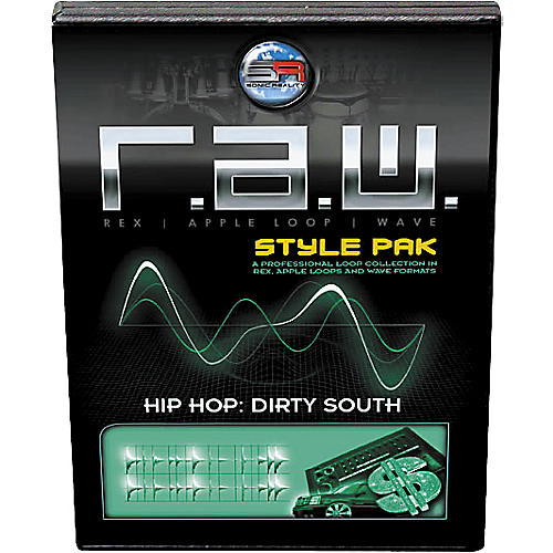 Sonic Reality R.A.W. Style Pak - Hip Hop: Dirty South Loops Collection Software-thumbnail