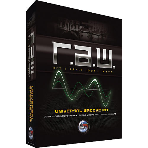 Sonic Reality R.A.W. Universal Groove Kit