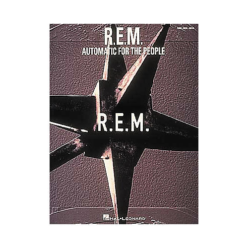 Hal Leonard R.E.M. Automatic for The People Songbook-thumbnail