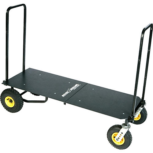 Rock N Roller R12 Multi-Cart 8-in-1 Equipment Transporter Cart With Deck