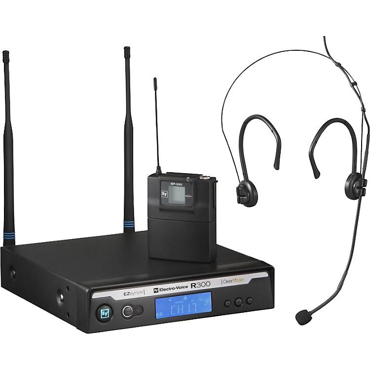 Electro-VoiceR300 Headworn Wireless System in CaseCh B