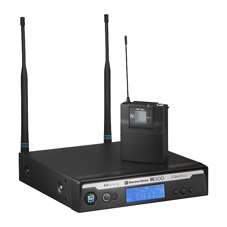 Electro-Voice R300 Lavalier Wireless System in Case Ch B
