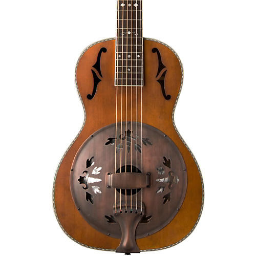 Washburn R360K Parlor Resonator Guitar with 1930's Style Inlay Vintage-thumbnail