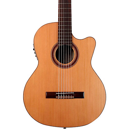 kremona r65cwc nylon string acoustic electric guitar natural musician 39 s friend. Black Bedroom Furniture Sets. Home Design Ideas