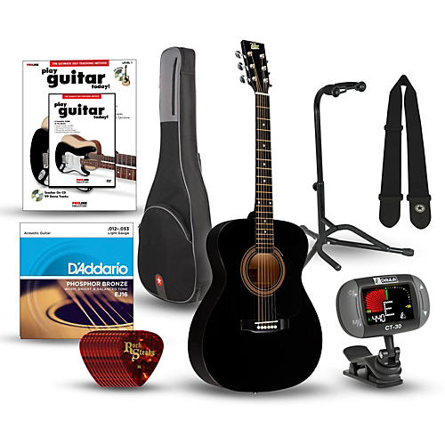 Rogue RA-090 Concert Acoustic Guitar Bundle-thumbnail