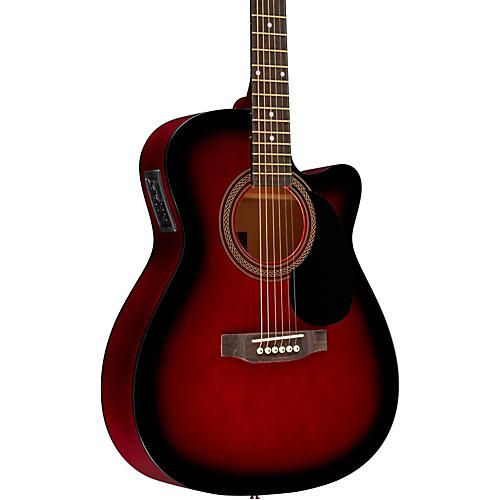 Rogue RA-090 Concert Cutaway Acoustic-Electric Guitar-thumbnail