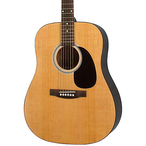 Rogue RA-100D Dreadnought Acoustic Guitar Natural
