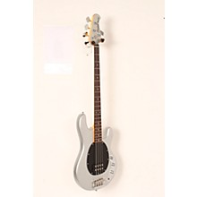 Sterling by Music Man RAY34CA Classic Active Electric Bass Guitar Level 2 Silver Metallic 190839100658