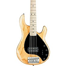 RAY35 5-String Electric Bass Guitar Natural