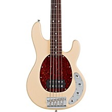 RAY35CA 5-String Electric Bass Guitar Vintage Cream