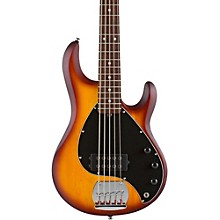 Sterling by Music Man RAY5 5-String Electric Bass Guitar Level 1 Satin Honey Burst