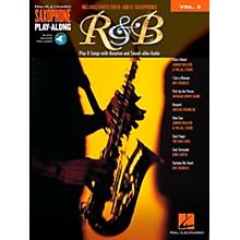 Hal Leonard R&B - Saxophone Play-Along Vol. 2 Book/CD