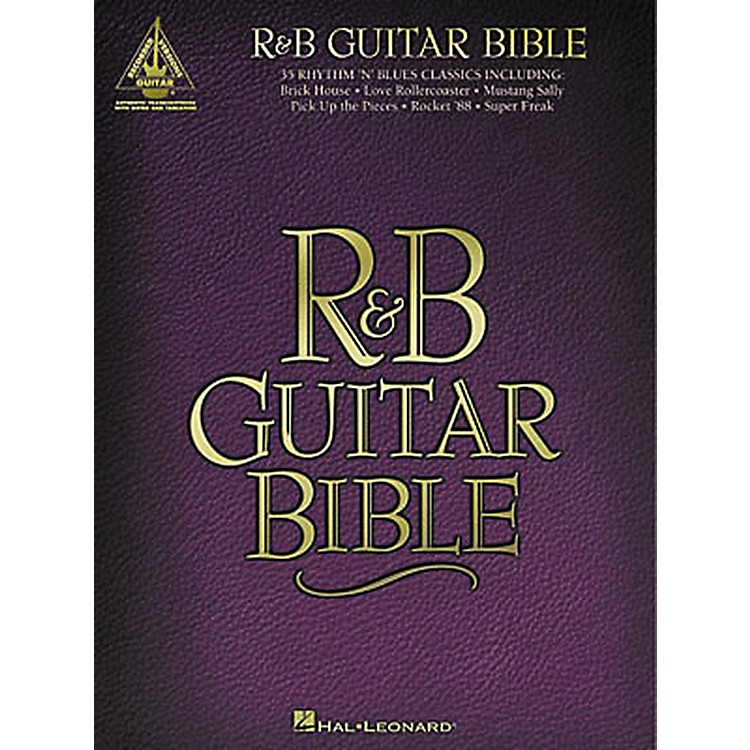 Hal Leonard R&B Bible Guitar Tab Songbook
