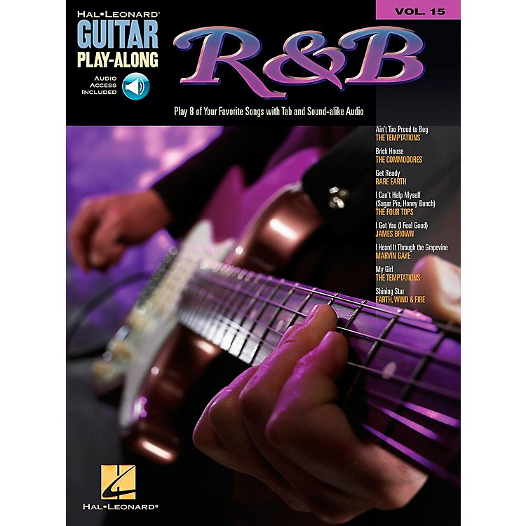 Hal Leonard R&B Guitar Play-Along Series Book with CD