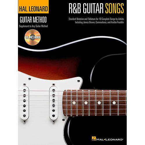 Hal Leonard R&B Guitar Songs - Hal Leonard Guitar Method Book/CD-thumbnail