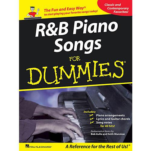 Hal Leonard R&B Piano Songs For Dummies