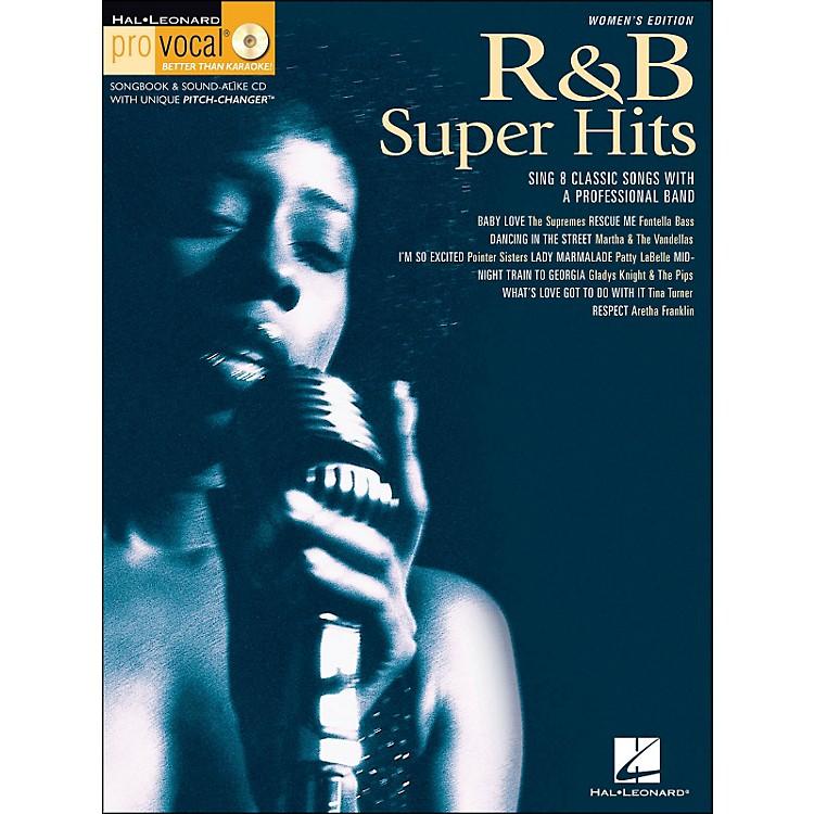 Hal LeonardR&B Super Hits Pro Vocal Songbook/CD for Women Singers Volume 7