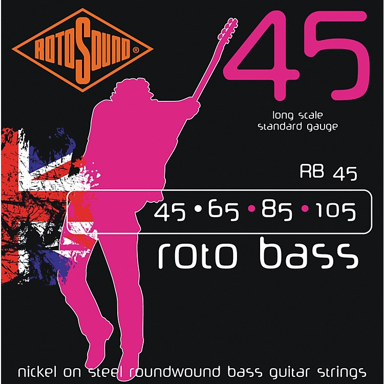 RotosoundRB45 Rotobass Nickel Roundwound Strings