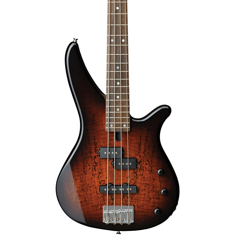 yamaha rbx170ew electric bass guitar with exotic mango wood top musician 39 s friend. Black Bedroom Furniture Sets. Home Design Ideas