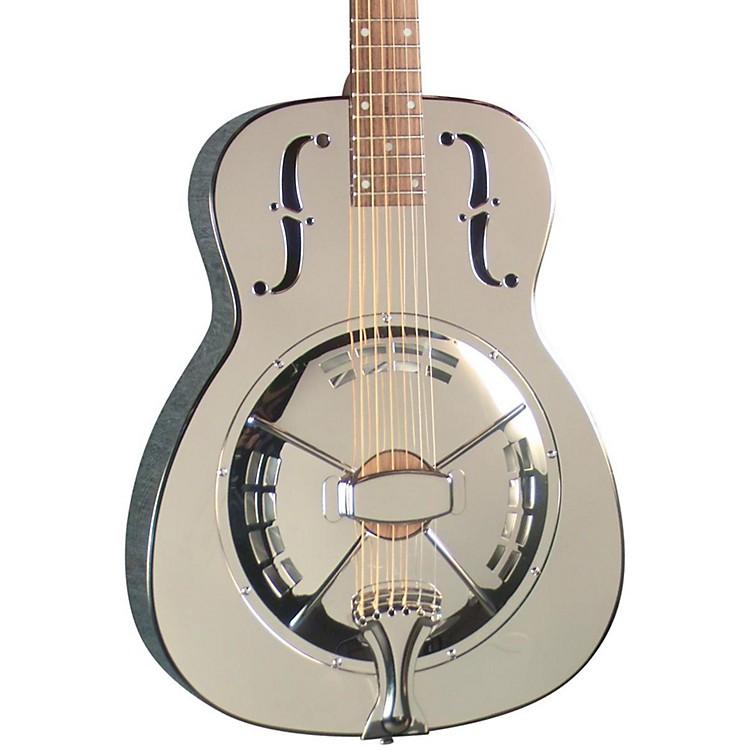 RegalRC-4 Metal Body Duolian Resonator GuitarAntique nickel-plated
