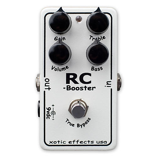 Xotic Effects RC Booster Clean Boost Guitar Effects Pedal