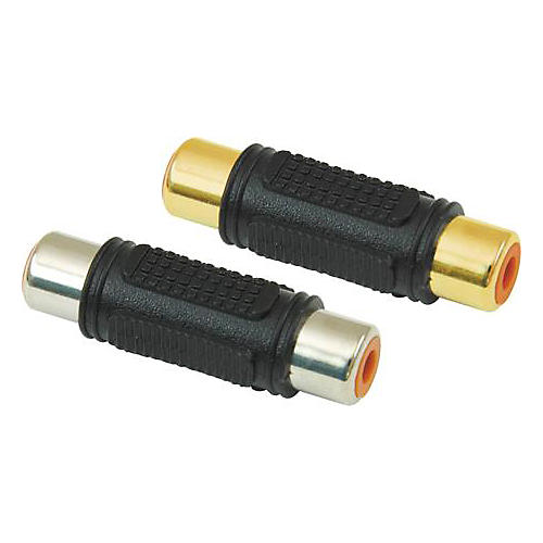 American Recorder Technologies RCA Female to RCA Female Adapter Gold