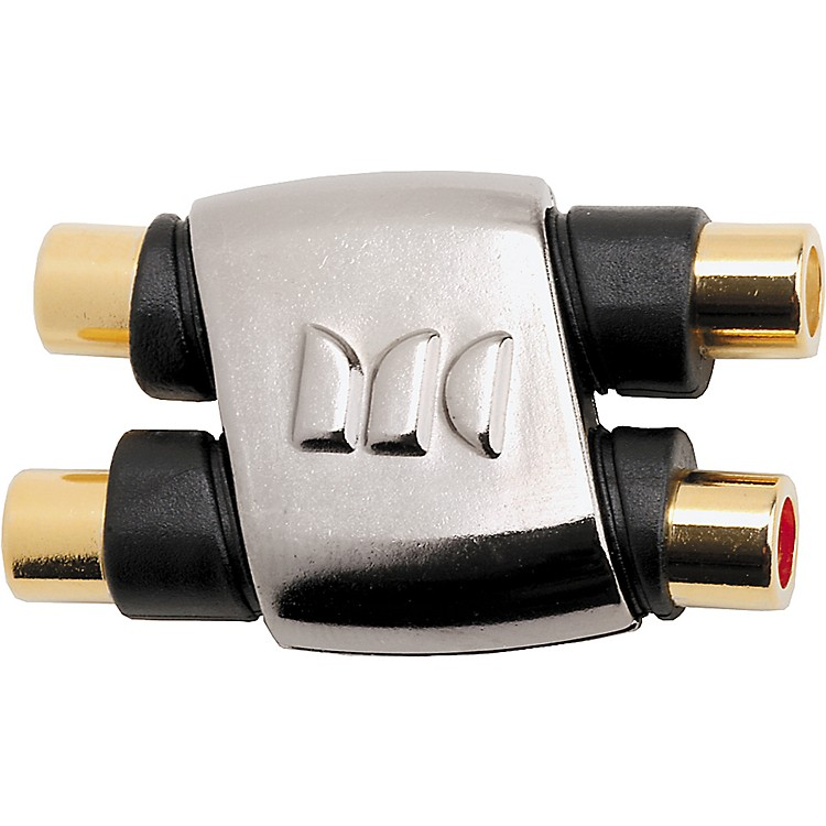 Monster Cable RCA Female to RCA Female Dual Inline Cable Coupler