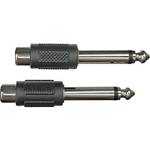 "Livewire RCA(F)-1/4""(M) Adapter 2-Pack"
